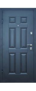 Дверь металлическая Промет Виктория (белёный дуб)